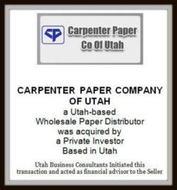 Carpenter Paper Company of Utah