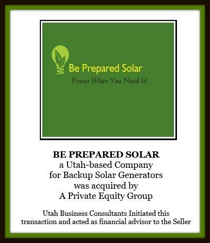 Be Prepared Solar
