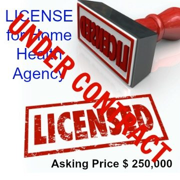 how to get a home health business license