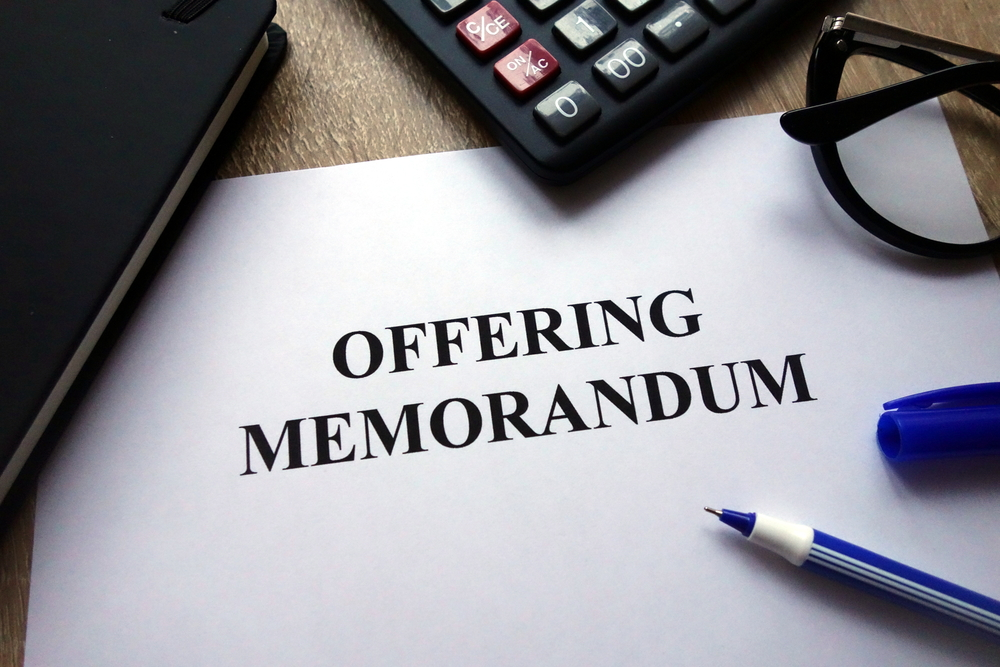 Primer on Business Sale Offering Memorandums
